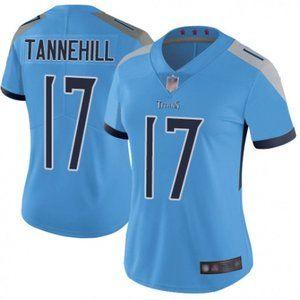 Women Titans Ryan Tannehill Blue Jersey